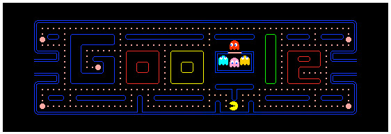 Google's Pac-Man mini game