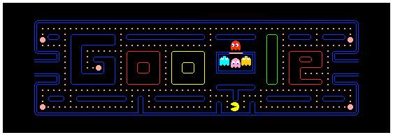 Google's Pac-Man mini game