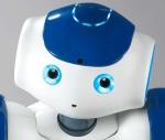 Aldebaran Robotics Nao robot face