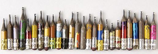 Dalton Ghetti Pencil Lead Carving