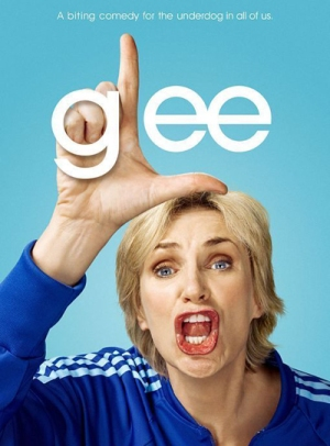 Jane Lynch as Sue Sylvester in Glee